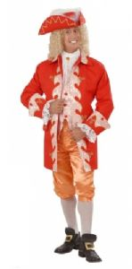 18th Century English Royal Court Costume (Red)